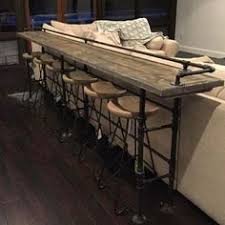 Ideas For A Bar Top 12 U0027 Resin Top Bar With Iron Pipe Base Like The Concept But I