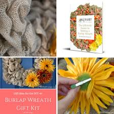 give a diy er a diy gift with a burlap wreath gift kit the