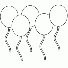 balloon coloring pages printable and page snapsite me