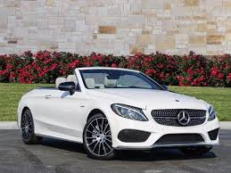 mercedes amg convertible 2018 mercedes c class c 43 amg cabriolet cabriolet in