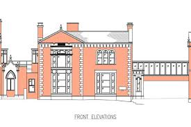 architectural layouts weston college elevations plans 600x400 jpg