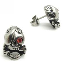 cool ear studs keep the shine of cool earrings for men wasabifashioncult