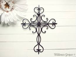 crosses for wall wall design ideas black colours ornate wall crosses home