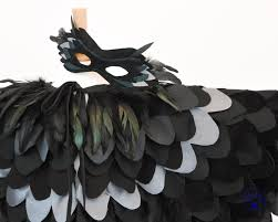 kids mockingjay raven costume halloween maleficent costume