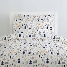 Taupe Duvet Taupe And Windsor Navy Baby Woodland Duvet Cover Carousel Designs