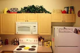 kitchen cabinet top decor kitchen decoration