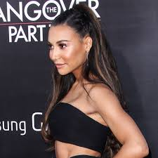 hairstyle with 2 shoulder braids naya rivera s half up braided hairstyle is the perfect combo of