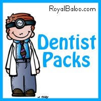 free dentist printable pack educational freebies pinterest