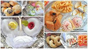 cuisine alg駻ienne gateaux recettes recettes de gâteaux algeriens et pâtisserie orientale pour aid el