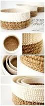 235 best crochet pots and baskets images on pinterest crochet