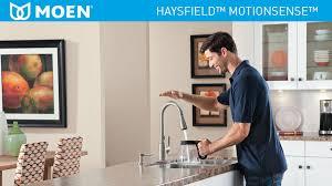 Moen Haysfield Kitchen Faucet Moen Haysfield Single Handle Pulldown Sprayer Touchless Kitchen