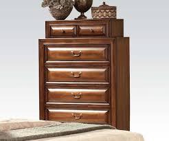 Cherry Wood Sleigh Bedroom Set Konane Sleigh Bedroom Set With Underbed Storage In Brown Cherry