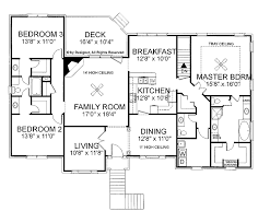 Luxury Ranch Floor Plans by Ranch Style Home Designs