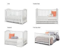 Sorelle Convertible Crib Sorelle Berkley Classic 4 In 1 Convertible Crib White
