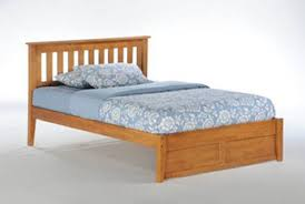 Oak Platform Bed Series Rosemary Medium Oak Platform Bed By Day Furniture