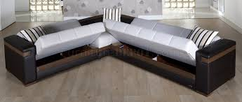 Sectionals Sofa Beds Fabric Leatherette Convertible Sectional Sofa Bed