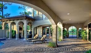 saterdesign com home plan casoria tuscan house plans home design sater design