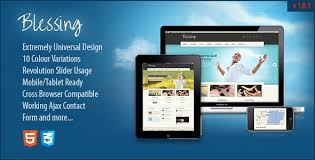 download layout html5 css3 blessing responsive themeforest html5 css3 template html others