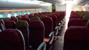 Air India Seat Map by Air India 787 8 Dreamliner Cabin Walk Through Youtube