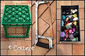 diy nail polish rack 3 steps with pictures