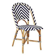 Navy Bistro Chairs The über Chic East Coast Look Your Home Needs Bistro Chairs