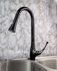 Kitchen Sink Faucet With Pull Out Spray by New Classic Oil Rubbed Bronze Deck Mounted Kitchen Pull Out Spray