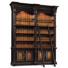 Double Bookcase Best 25 Bookcase With Ladder Ideas On Pinterest Library Ladder