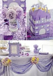 Sofia Decorations Royal Purple Sofia The First Birthday Party Royals Birthdays