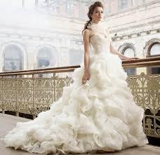 stunningly beautiful white lazaro wedding dresses