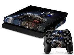 playstation 4 design new design batman protector vinyl decal ps4 skin stickers for sony