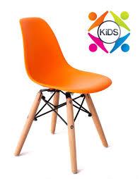 replica eames children dsw chair for kids under 1 2m orange
