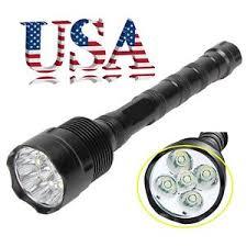 Torch Light Flashlight Tactical 50000 Lumens Led Flashlight 5 Modes 5x Xml T6 Lamp Torch