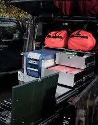 overland jeep kitchen complete kitchen fridge and stove drawer cab overland kitchen