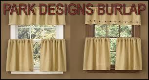 Park Designs Curtains Park Designs Burlap Collection