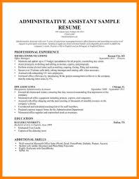 administrative assistant resume templates 8 construction administrative assistant resume hr cover letter