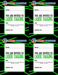 laser tag free printables laser tag invitations printable free