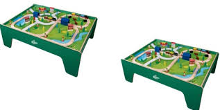 carousel train table set carousel 100 piece wooden train table 40 using new customer code