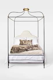 tara shaw maison iron venetian canopy bed queen size for sale at