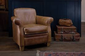 Vintage Leather Recliner The Vintage Leather Armchair By Indigo Furniture