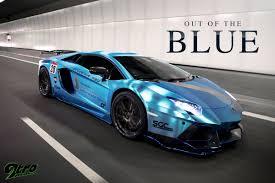 Blue Lamborghini Aventador - lamborghini aventador out of the blue 9tro