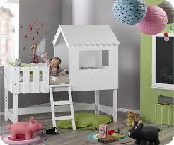 ma chambre d enfant lit enfant cabane swam blanc