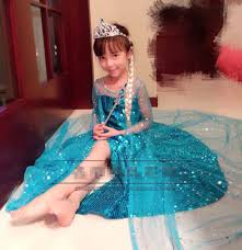 elsa halloween costume girls online get cheap sparkle princess costume aliexpress com