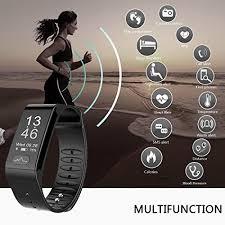 heart healthy bracelet images Fitness tracker smart ecg heart rate blood pressure monitor ip66 jpg