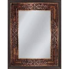 bronze bathroom mirror ebay