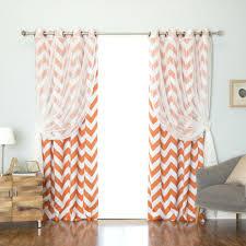 Burnt Orange Sheer Curtains Orange Sheer Curtains Walmart Target Hixathens