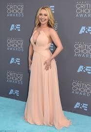 Juliette Barnes Makeup Hayden Panettiere Returns To The Red Carpet At Critics U0027 Choice