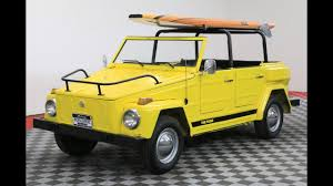 1974 volkswagen thing type 181 1974 volkswagen thing youtube