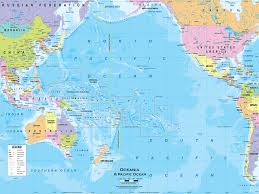 map of australia and oceania countries and capitals map of australia and oceania roundtripticket me