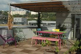 Appartement Toit Terrasse Paris Chambre Enfant Agencement Terrasse Amenagement Terrasses Paris
