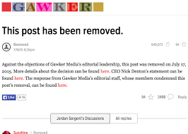 Executive Letter Of Resignation Gawker Media Controversy Editor In Chief Max Read And Executive